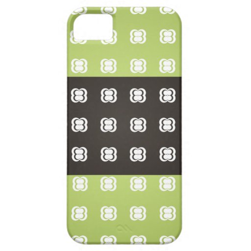Green circle pattern 3 tripes Iphone 5s cases iPhone 5 Cover