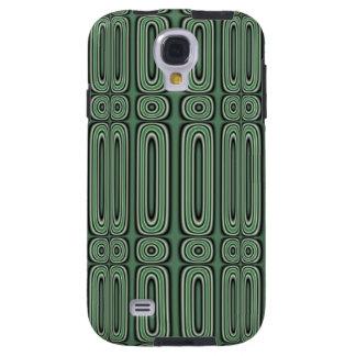 Green Circle Pattern Galaxy S4 Case