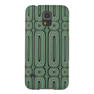 Green Circle Pattern Galaxy S5 Covers