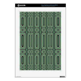 green circle pattern PS3 decals