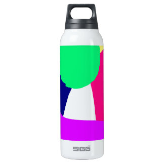 Green Circle Purple Jacket No Person 16 Oz Insulated SIGG Thermos Water Bottle
