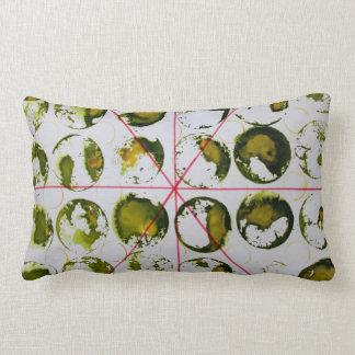 green circle throwpillow pillow