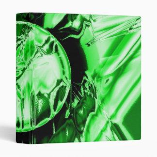 Green Circle Vinyl Binders