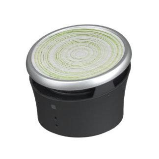 Green circles bluetooth speaker