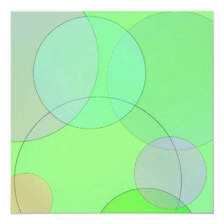 Green Circles Card