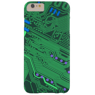 Green Circuit Board Phone Case Barely There iPhone 6 Plus Case