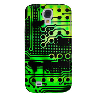 Green Circuitry iPhone 3G Case Samsung Galaxy S4 Cases
