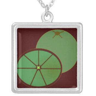 Green Citrus Fruit Jewelry