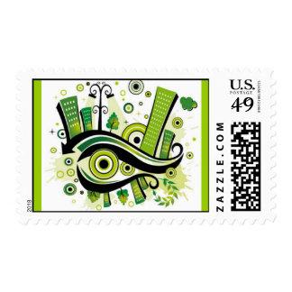 green-city1 postage