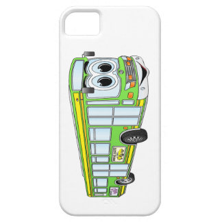 Green City Bus Cartoon iPhone SE/5/5s Case