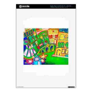 green city iPad 3 decal