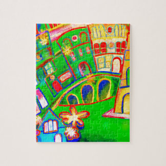 green city jigsaw puzzle