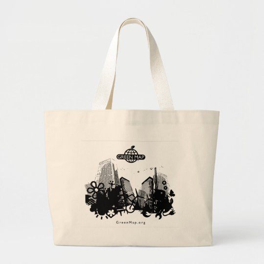 Green City Large Tote Bag