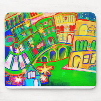 green city mouse pad