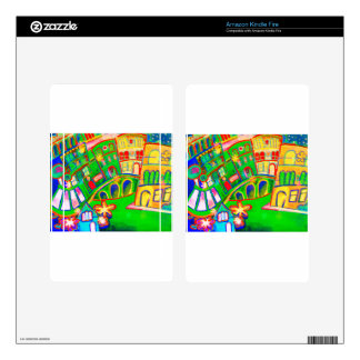green city skin for kindle fire