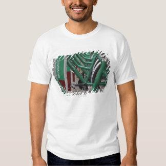 Green city transport tee shirt
