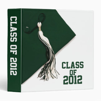 "Green Class of 2012 Graduation 1.5"" Photo Album Binder"