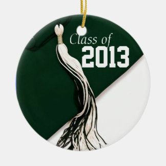 Green Class of 2013 Ornament