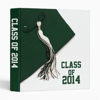 Green Class of 2014 Graduation 1 Photo Album 3 Ring Binder