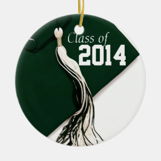 Green Class of 2014 Ornament