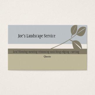 Green Classic Elegant Nature Lead Stripes Business Card