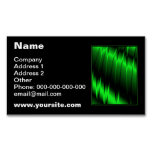 Green Claws Magnetic Business Cards (Pack Of 25)