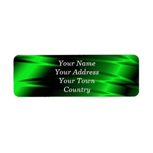 Green Claws Return Address Label