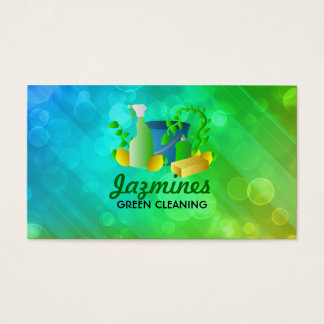 Green Cleaning business cards