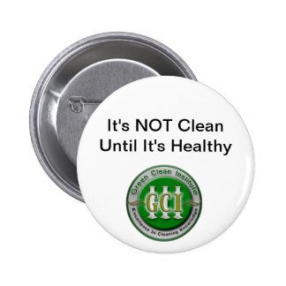 Green Cleaning Button