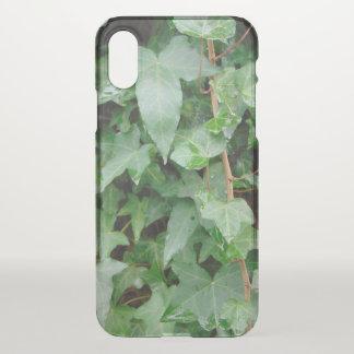 Green Climbing Ivy 0237 iPhone X Case