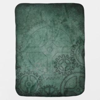Green Clockworks Stroller Blankets