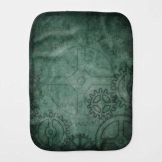 Green Clockworks Burp Cloth