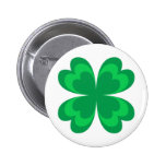 Green clover - Badge Pins