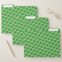 Green Clover Ribbon by Kenneth Yoncich File Folder