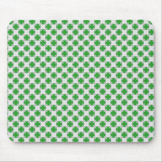 Green Clover Ribbon by Kenneth Yoncich Mouse Pad