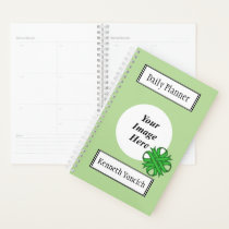 Green Clover Ribbon by Kenneth Yoncich Planner