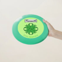 Green Clover Ribbon by Kenneth Yoncich Wham-O Frisbee