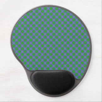 Green Clover Ribbon Gel Mouse Pad