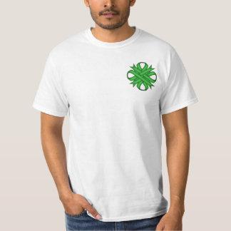Green Clover Ribbon T-Shirt