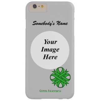 Green Clover Ribbon Template Barely There iPhone 6 Plus Case