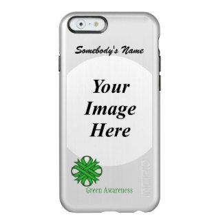 Green Clover Ribbon Template Incipio Feather Shine iPhone 6 Case