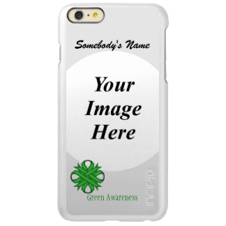 Green Clover Ribbon Template Incipio Feather® Shine iPhone 6 Plus Case