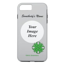 Green Clover Ribbon Tmpl by Kenneth Yoncich iPhone 8 Plus/7 Plus Case