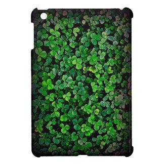 Green clover shamrock irish ale ireland iPad mini covers