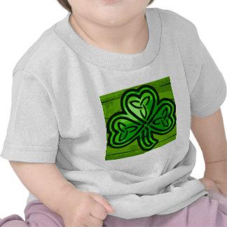 Green clover shirt
