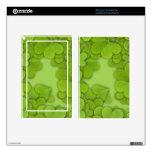 Green Clovers Skin For Kindle Fire