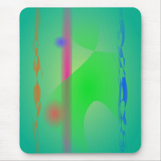 Green Clump Mouse Pads