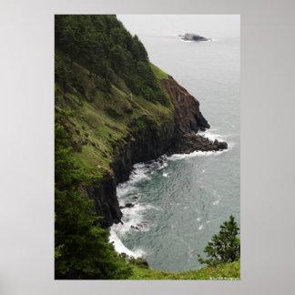 Green Coast Poster