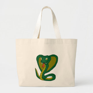 Green Cobra gifts and products Jumbo Tote Bag