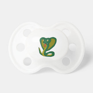 Green cobra pacifier